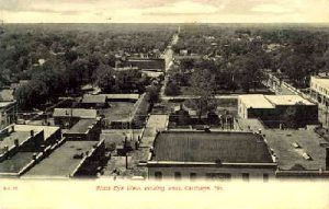 Vintage Postcard of Carthage, Missouri