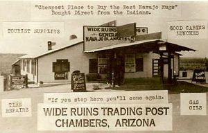 Wide Ruins Trading Post, Chambers, Arizona