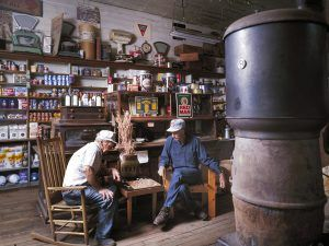 Checker Players, Mast General Store, Valle Crucis, North Carolina