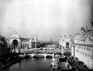 Chicago World Columbian Exposition Grounds in 1893