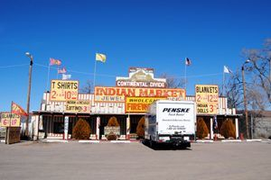 Indian Trading Post at the Continental Divide, New Mexico