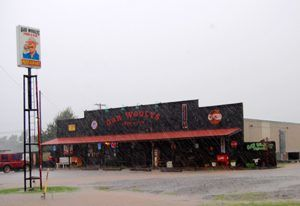Gar Wooly's 66 Cafe, Davenport, Oklahoma