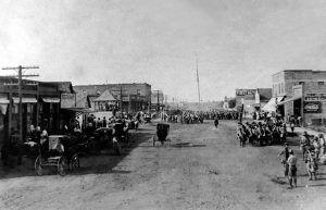 Davenport, Oklahoma in 1910