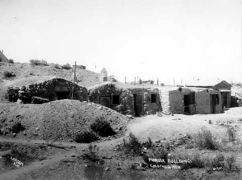 Dugout House Goldfield