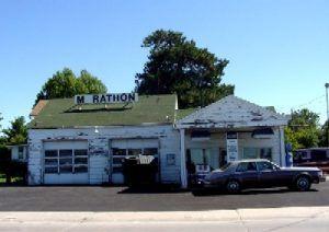 Dwight Ambler Becker Texaco Station