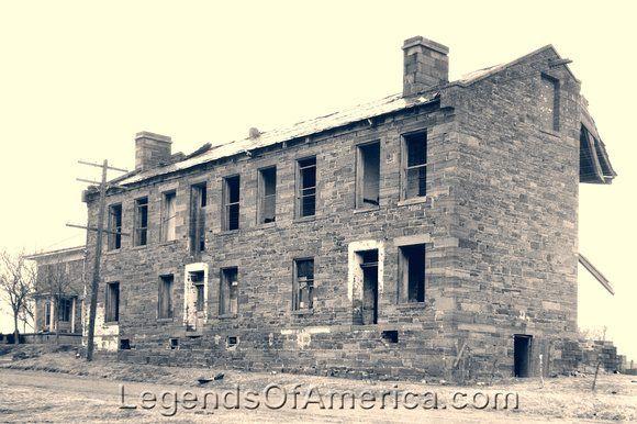 Fort Gibson Barracks, 1934