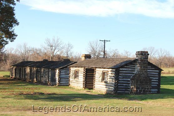 Fort Gibson, Oklahoma Buildings