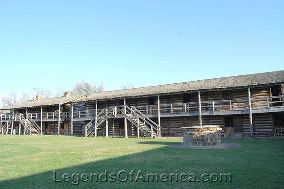 Fort Gibson, OK - Barracks