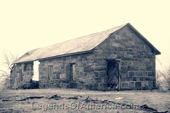 Fort Gibson, OK - Blacksmith Shop, 1934