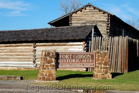 fort gibson website