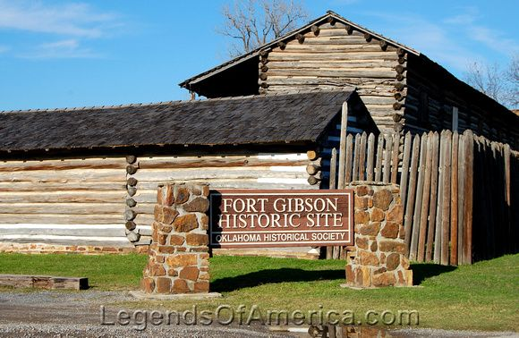 Fort Gibson, OK - Historic Site