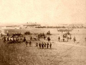 Vintage Fort Harker, Kansas