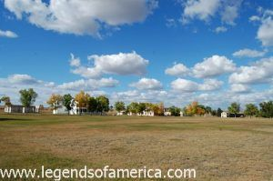 Parade Grounds at Fort Laramie, Wyoming
