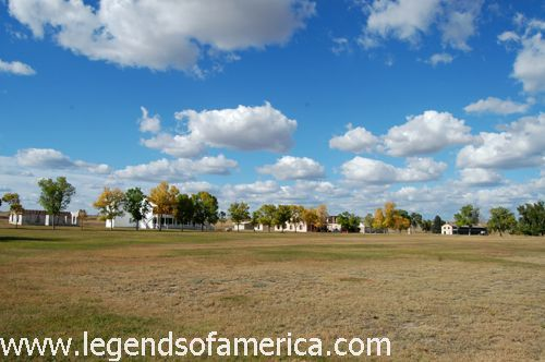 Parade Grounds at Fort Laramie, Wyoming by Kathy Weiser-Alexander.
