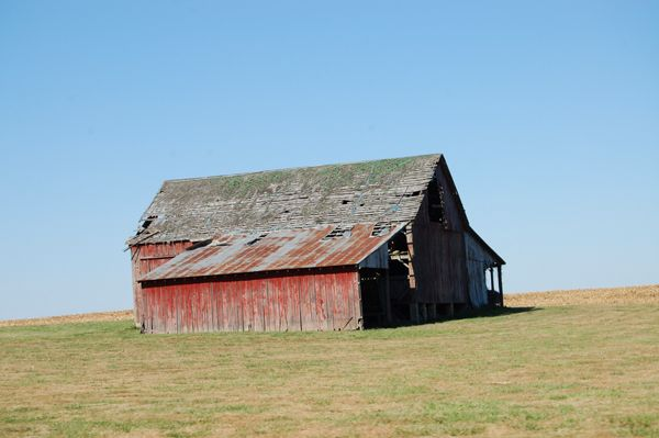 Funks Grove, Illinois Stubblefield Barn
