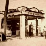 Gay Parita in Paris Springs Junction, Missouri in the 1930s