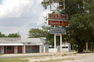 Old Supper Club in Geary, Oklahoma