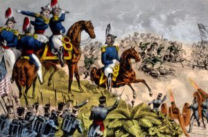 General Taylor, Battle of Buena Vista, Sarony and Major, 1847