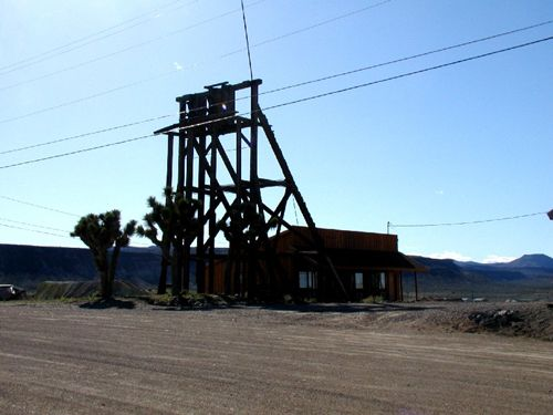 Goldfield, NV Head frame
