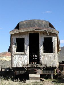 Goldfield, NV Train Car
