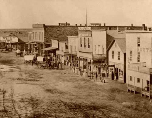 Great Bend, Kansas 1870s
