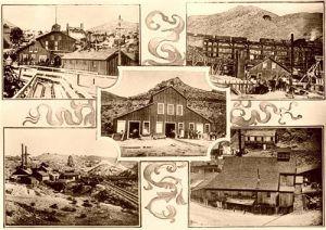 Hoisting Works Virginia City NV 1890