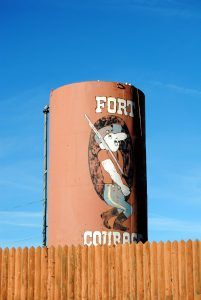 Fort Courage is closed today, by remnants remain