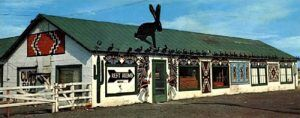 Vintage Jack Rabbit Trading Post, Joseph City, Arizona