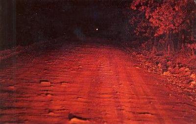 Hornet Spook Light near Joplin, Missouri