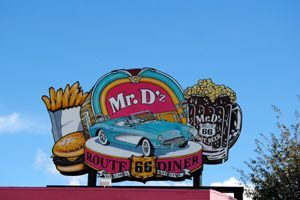 Mr. Dz Sign, Kingman, Arizona