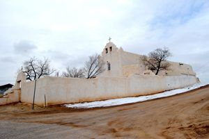 St. Joseph Church at Laguna Pueblo, New Mexico