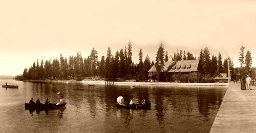 Lake Tahoe, California, 1908, George R. Lawrence