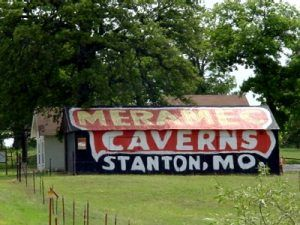 Meramec Caverns Barn west of Chandler, Oklahoma