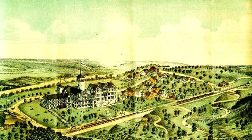 Meramec Highlands during its heyday.