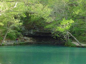 Meramec Spring State Park near St. James, Missouri