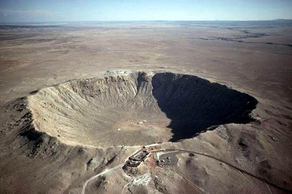 Meteor Crater, Arizona courtesy Wikipedia