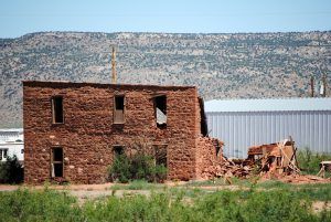 Old Hendren Home, Montoya, New Mexico