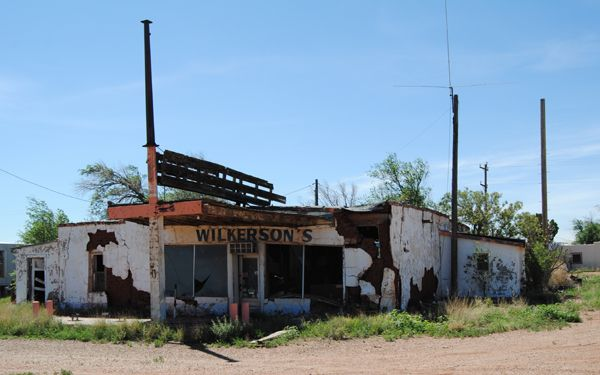 Wilkerson's Gas Station, Newkirk, New Mexico