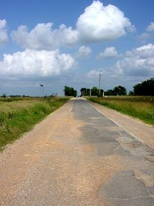 Nine Foot Road, Route 66, Oklahoma