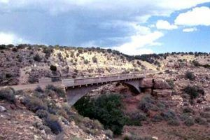 Padre Canyon Bridge, Arizona
