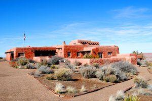 Painted Desert Inn today