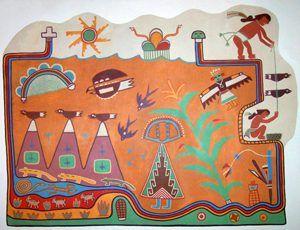 Painted Desert Inn Hopi Symbols