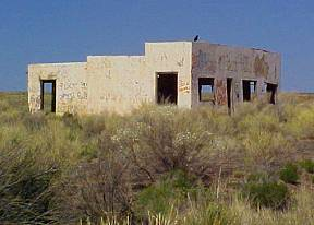 Painted Desert Trading Post Ruins
