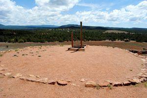 Kiva at the Pecos Pueblo
