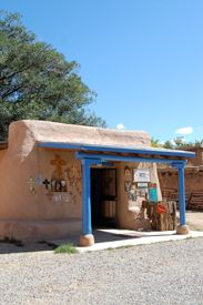 A colorful shop in Ranchos de Taos