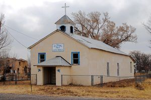 St. Josephs Church, San Fidel, New Mexico