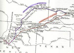 Santa Fe Trail Branches