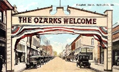 Springfield missouri queen city of the ozarks legends for Shirt printing springfield mo