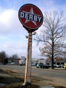 Derby Station Sign, St. James, Missouri