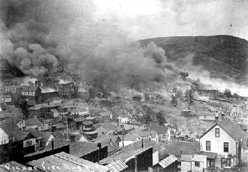 Victor, Colorado Fire, 1899